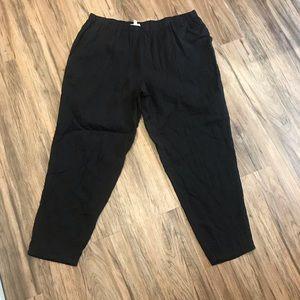 Eileen Fisher gauze pants